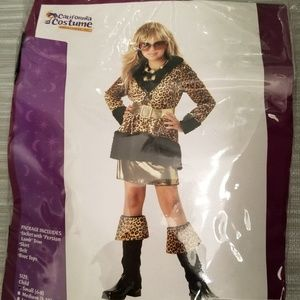NEW Girls RUNWAY DIVA costume size Small (6-8)